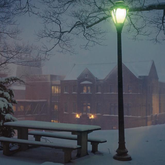 """Winter Fairy Tale"" stock image"