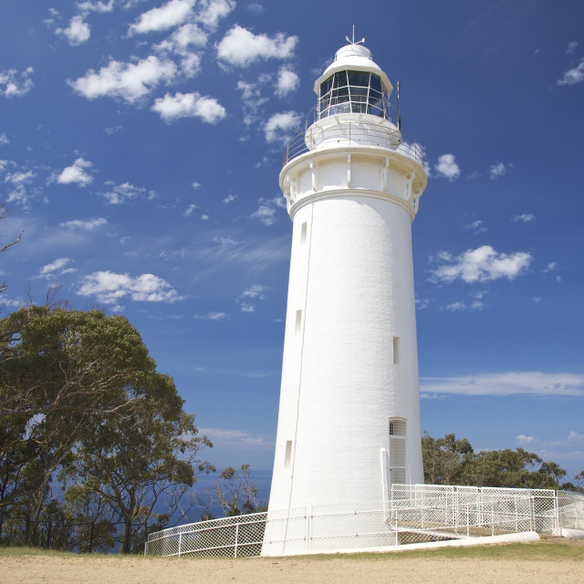 """Lighthouse, Tasmania"" stock image"