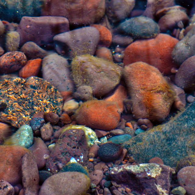 """Rocks Underwater"" stock image"