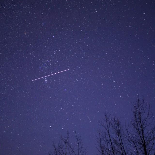 """""""Shooting star"""" stock image"""