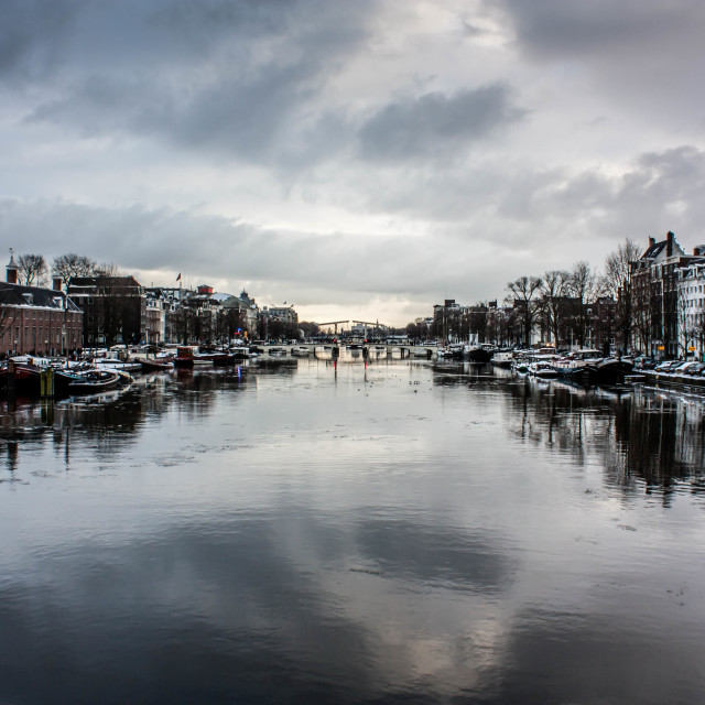 """""""Amsterdam Canal 3"""" stock image"""