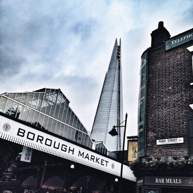 """Borough Market"" stock image"