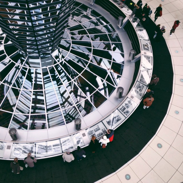 """Reichstag dome"" stock image"