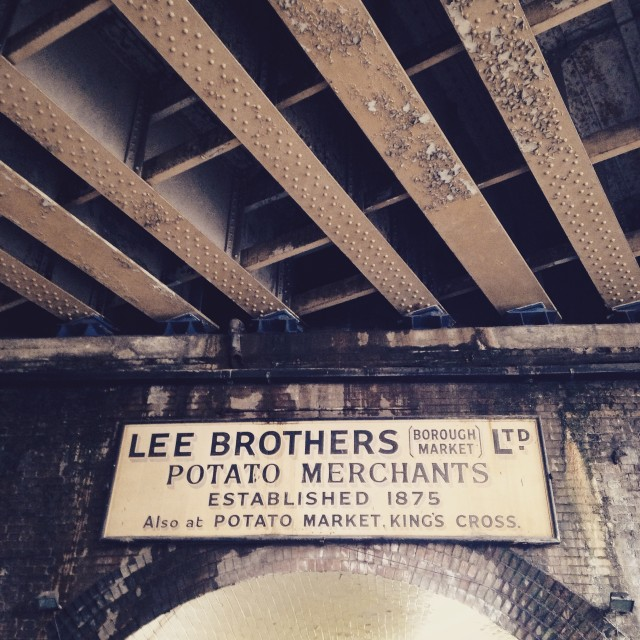 """Lee Brothers at Borough Market"" stock image"