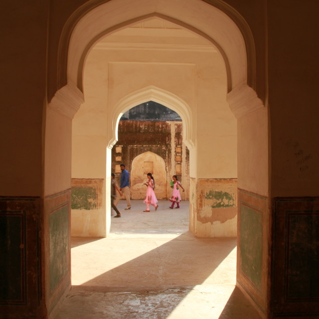 """Arches from India"" stock image"