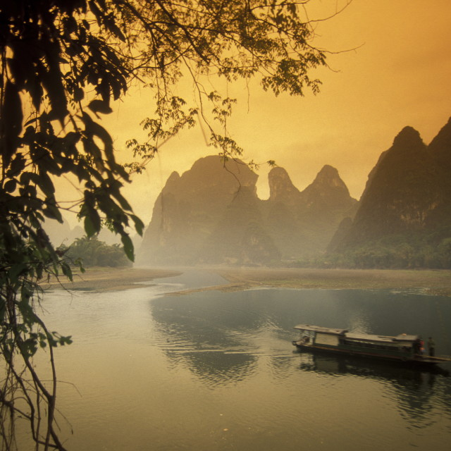 """ASIA CHINA GUILIN"" stock image"