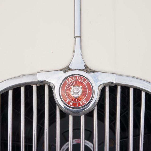 """Jaguar XK 150"" stock image"