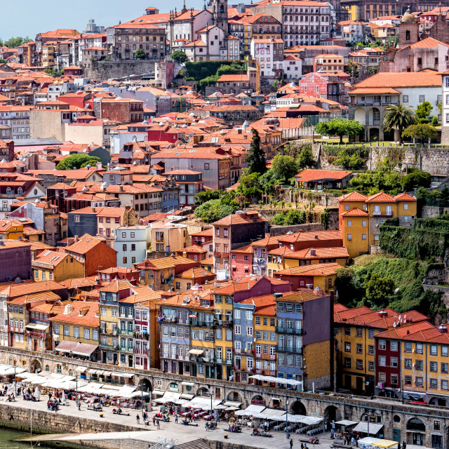 """The historic centre of Porto"" stock image"