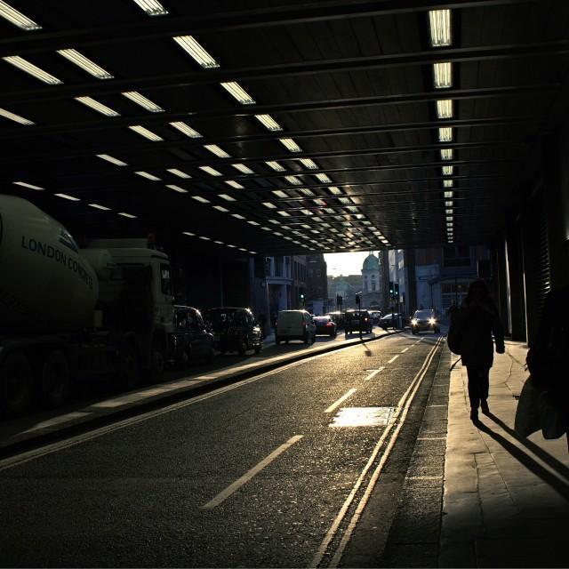 """""""Bright In Barbican"""" stock image"""