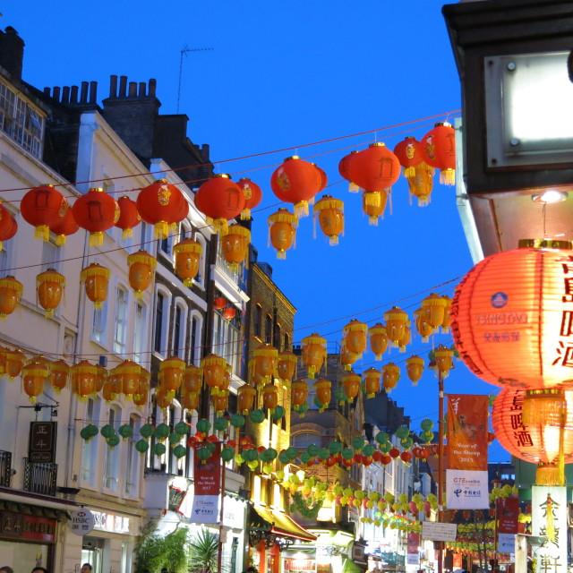 """Chinese lanterns"" stock image"