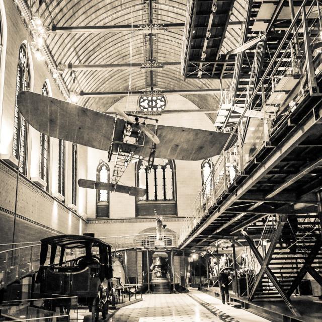 """Wings Overhead in Paris"" stock image"