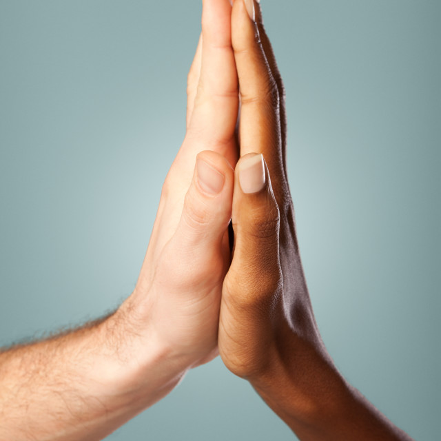 """High Five"" stock image"