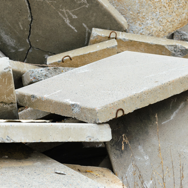 """Reinforced Concrete Slabs"" stock image"
