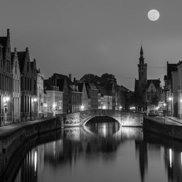 """Bruges Brugge city, Belgium"" stock image"