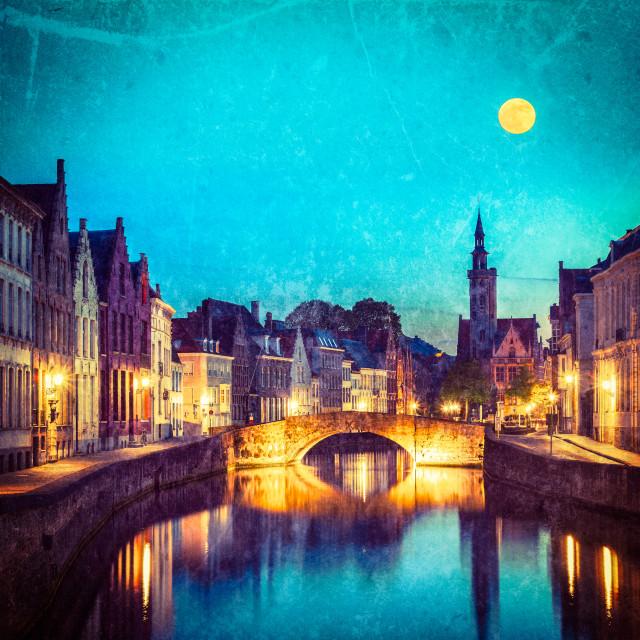 """Bruges (Brugge), Belgium"" stock image"