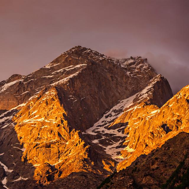 """Himalayas mountains"" stock image"