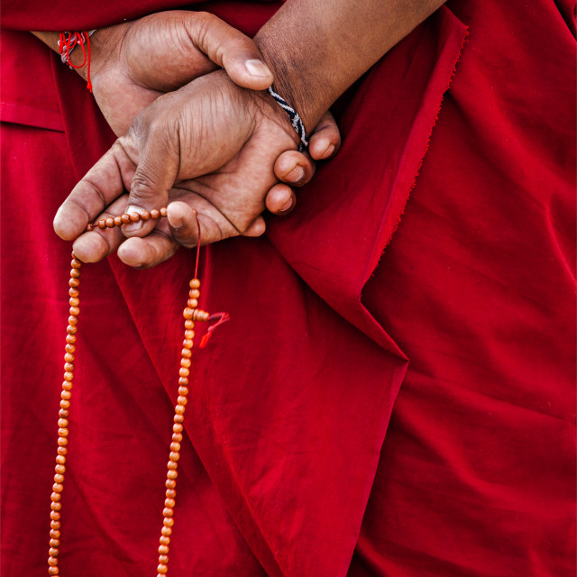 """Tibetan Buddhism"" stock image"