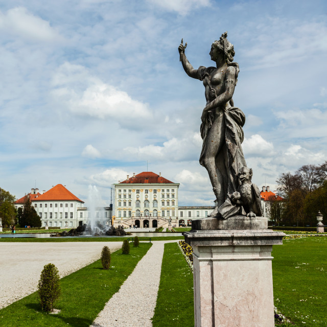 """Nymphenburg Palace. Munich, Germany"" stock image"