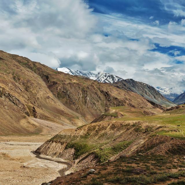 """Himalayan landscape"" stock image"