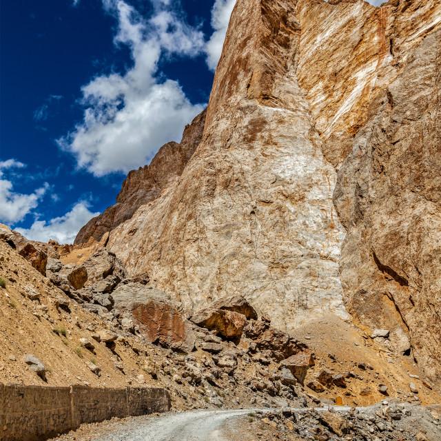 """""""Manali-Leh road"""" stock image"""