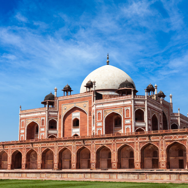 """""""Humayun's Tomb. Delhi, India"""" stock image"""