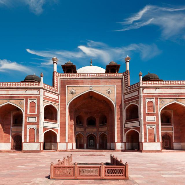 """Humayun's Tomb complex, Delhi, India"" stock image"