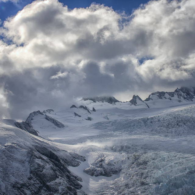 """Franz joseph glacier"" stock image"