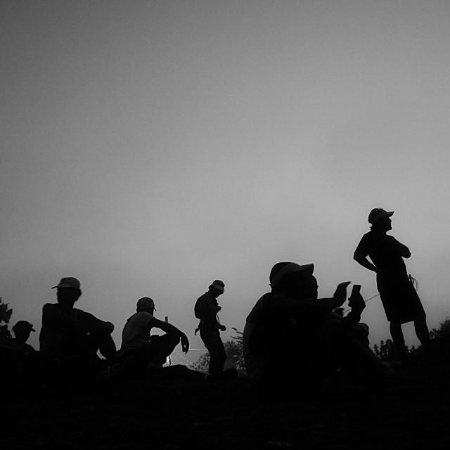 """""""Dawn in Costa Rica"""" stock image"""