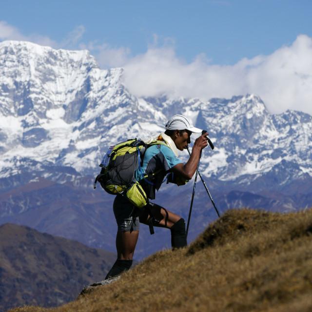 """The Himalayas"" stock image"