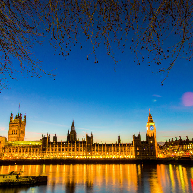 """Houses of Parliament. London, England."" stock image"