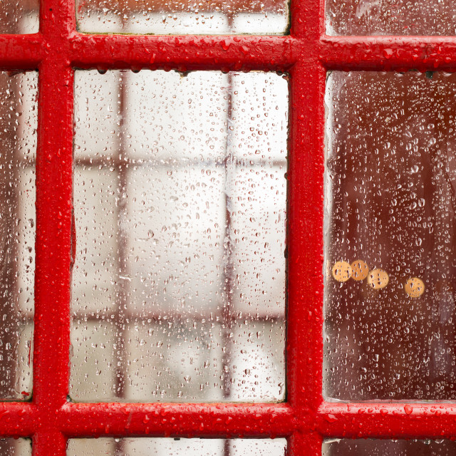 """""""Phone cabine in London"""" stock image"""