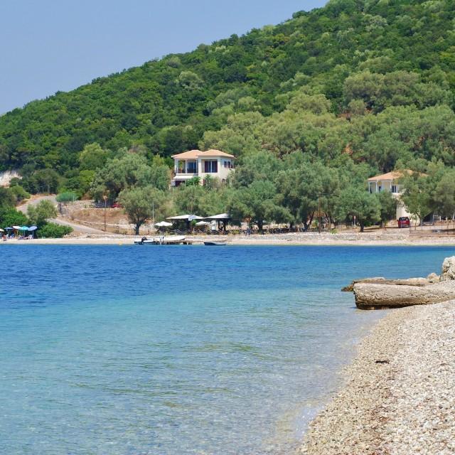 """Agios Ioannis, Meganissi"" stock image"
