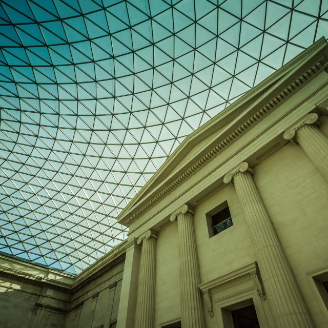 """""""Museum Roof"""" stock image"""