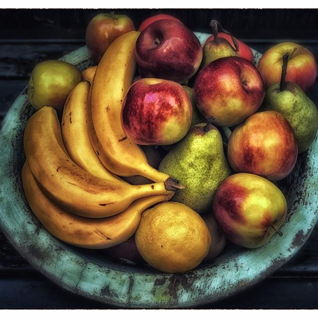 """Fruit Bowl."" stock image"
