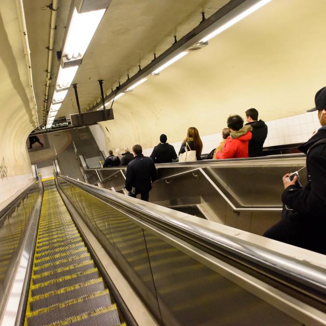 """""""New York Subway"""" stock image"""