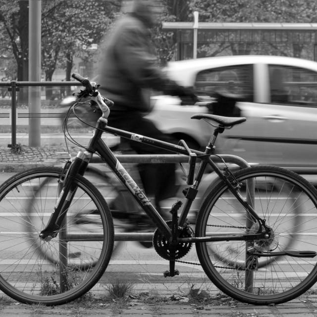 """Berlin Bike"" stock image"