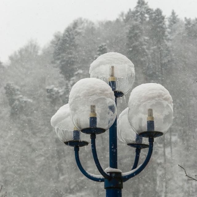 """""""Frozen Light"""" stock image"""