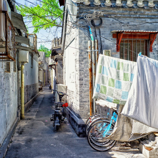 """Side street"" stock image"