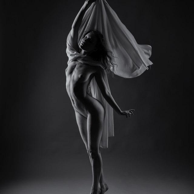 """""""Fine-Art Nude"""" stock image"""