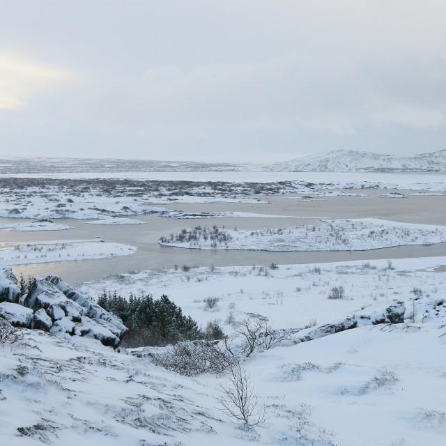 """Þingvellir National Park, Iceland"" stock image"
