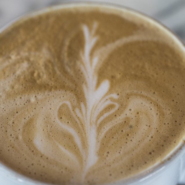 """Coffee Cup Macro"" stock image"