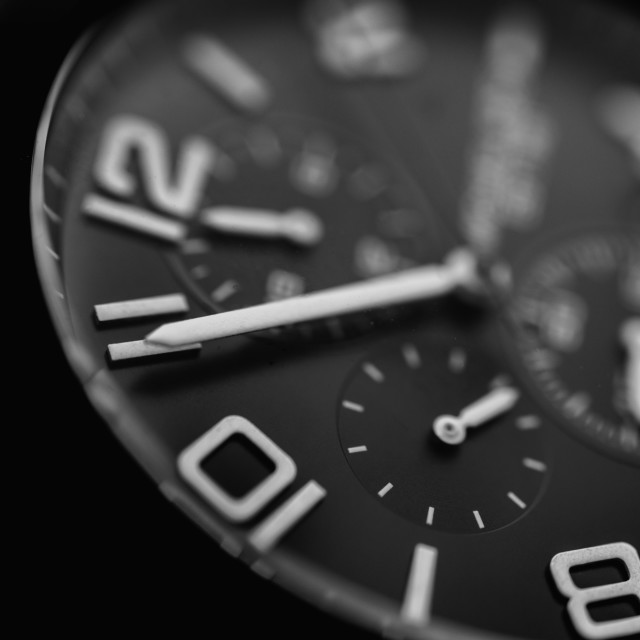 """""""Watch Macro Luxury"""" stock image"""