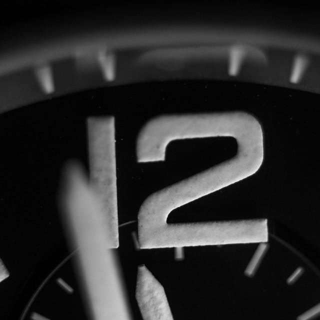 """Watch Timepiece Macro 2"" stock image"