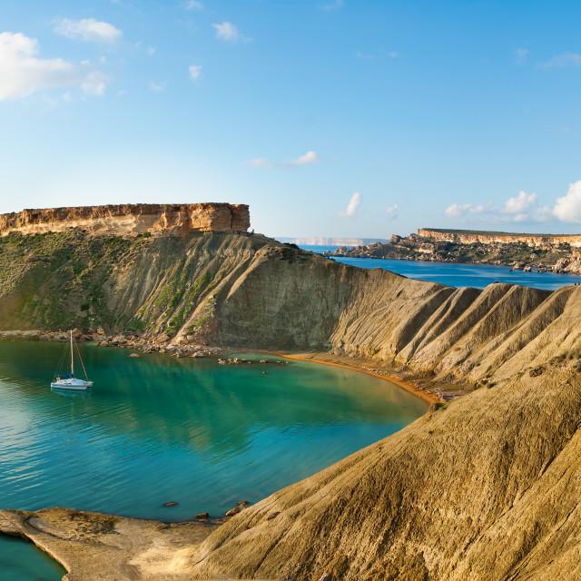 """""""Coastal Panorama"""" stock image"""