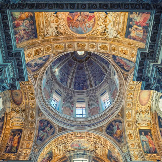 """Santa Maria Maggiore - Church of Rome"" stock image"