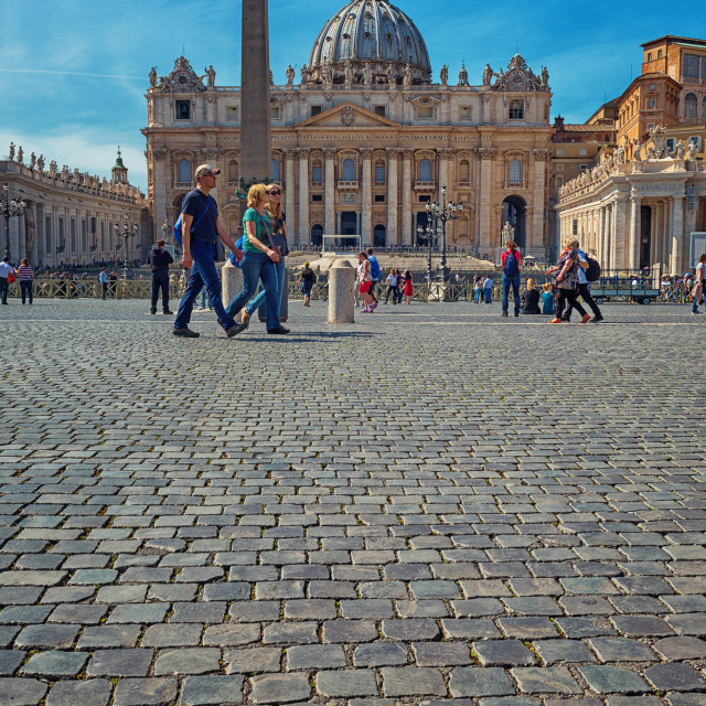 """Saint Peter Square - Rome"" stock image"