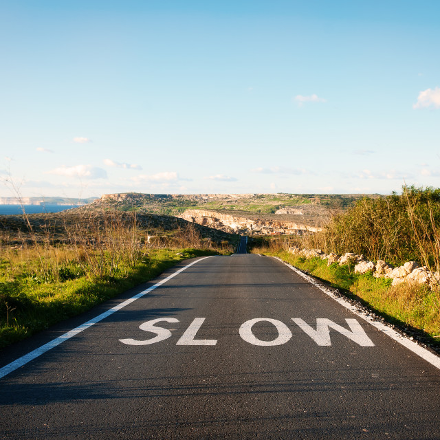 """Slow"" stock image"