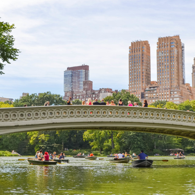 """""""Central Park date"""" stock image"""