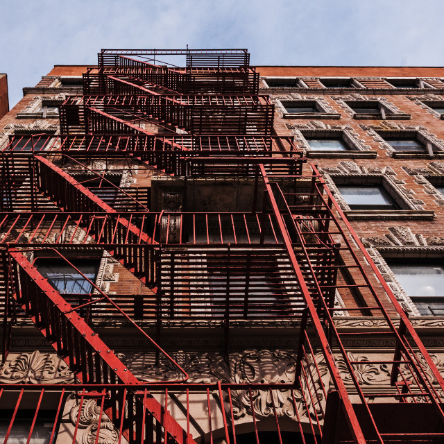"""Beautiful Harlem Architecture"" stock image"