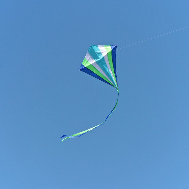"""Kite Flying"" stock image"